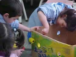 La expresión plástica, actividad lúdica en los niños pequeños